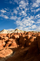 Clouds and Mounds in Escalante National Monument
